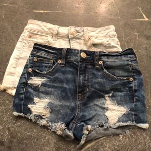Shorty-Shorts Super Stretch X Cut Offs
